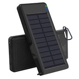 Solar Charger 10000mAh - VIGLT Portable Charger Quick Charge