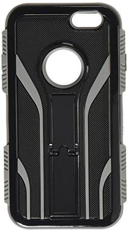 Asmyna TUFF Extreme Hybrid Protector Cover for iPhone 6 - Re