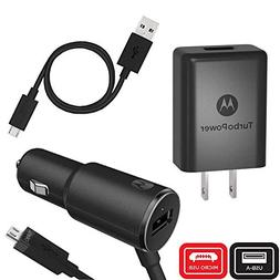 Motorola TurboPower Micro-USB Essentials Bundle: TurboPower