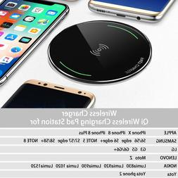 Ultra Slim Qi Wireless Phone Charger for Samsung Galaxy 8 iP