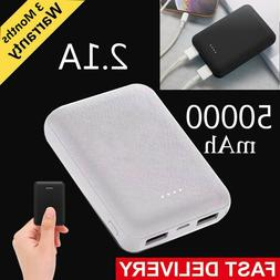 Ultra-thin Power Bank 50000mAh Mini Portable Battery Charger