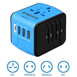Universal Travel Adapter International Power Adapters Europ