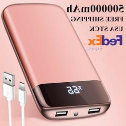 Standby 500000mAh Power Bank Portable External Battery Charg
