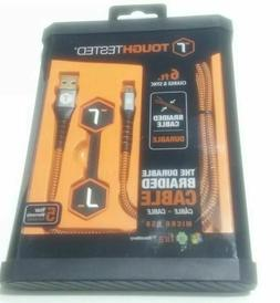 Tough Tested USB-A to Micro-USB Male Charge & Sync Cable  ph