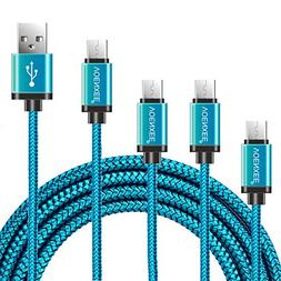 USB Type C Cable VOENXEE  Nylon Braided USB C Type-C Fast Ch