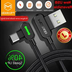 MCDODO USB-C Type-C Cable Heavy Duty Charging Sync Charger S