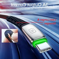 USB Cable INIU 3A 2m Mobile Phone Charger Type-C  Micro USB
