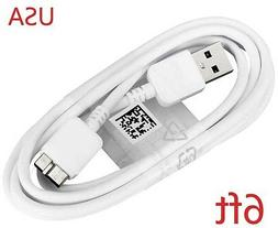 6ft USB DC Charger Charging +PC Data SYNC Cord Cable For Sam