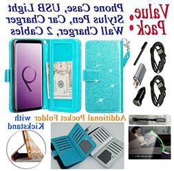 """Value Pack + for 6.2"""" Samsung S9+ Galaxy S 9 + PLUS Case Wal"""