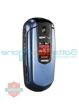 Verizon or PagePlus Samsung Smooth U350 Great Condition Blue