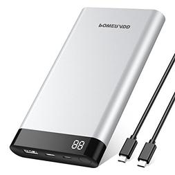 POWERADD Virgo 10000mAh Portable Charger USB-C Power Bank wi