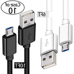 Android Phone Fast Charger Cord with Extra Long Length for