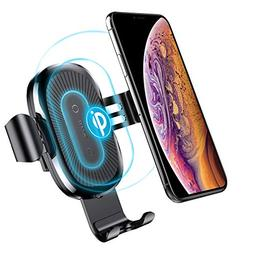 Wireless Car Charger Mount, Baseus Gravity Car Mount Air Ven
