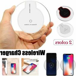 Qi Wireless Phone Charger Dock Charging Pad For iPhone 8 8Pl