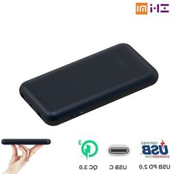 Xiaomi ZMI Power Bank QC3.0 Charger USB Type C PD For Phone